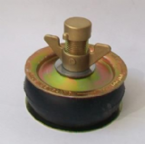 "Pressed Steel Heavy Duty Drain Testing Plug 4"" - 65001230"